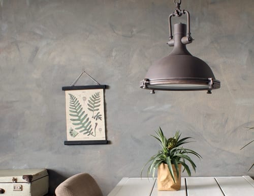 Stoere-eettafellamp-landelijk-industrieel-bruin