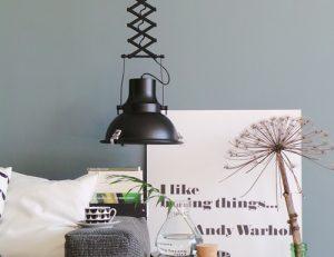 Zwarte-schaarlamp-hanglamp
