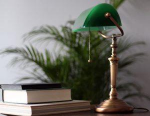 Tafellampje-klassiek-groen-notarislamp