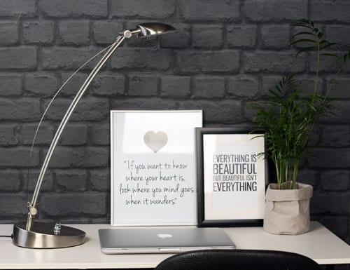 Moderne-bureaulamp-staal