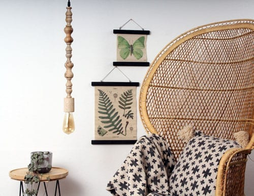 Unieke-houten-hanglamp-kralen