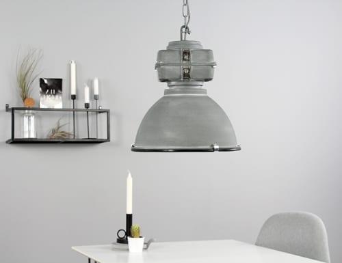 Betonlook-hanglamp