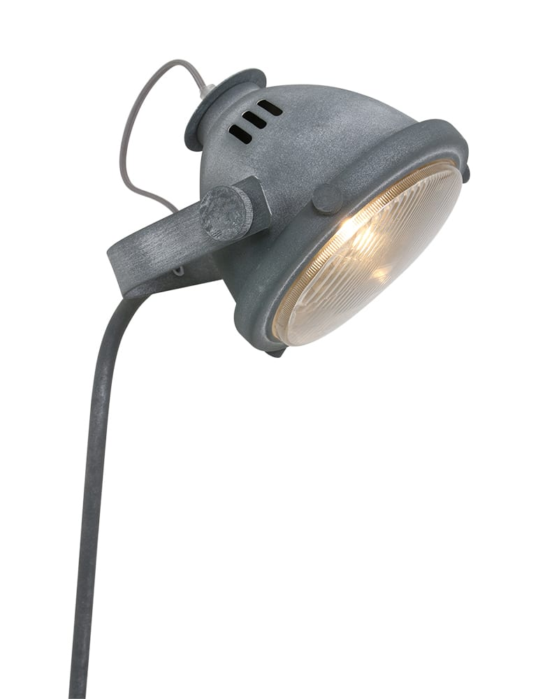 Industriële tafellamp Mexlite Nova betonlook