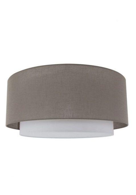 Plafondlamp met stoffen kap - 1517ST