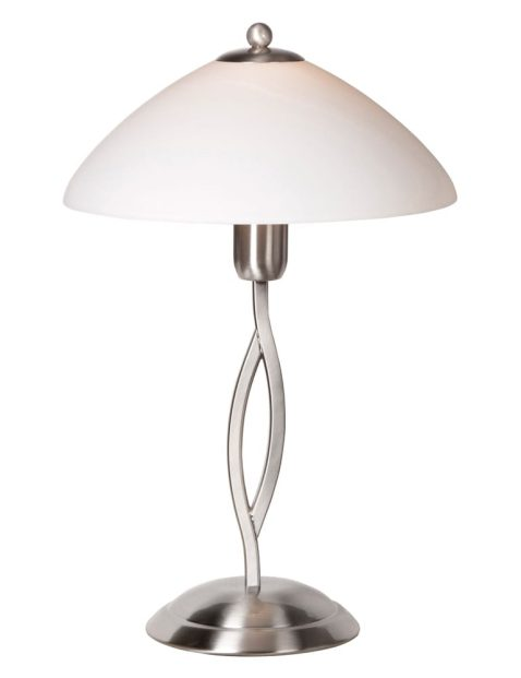 Sierlijke sfeerlamp Steinhauer Capri staal