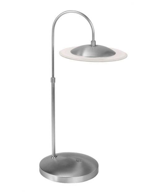Moderne LED tafellamp Steinhauer Zelena staal