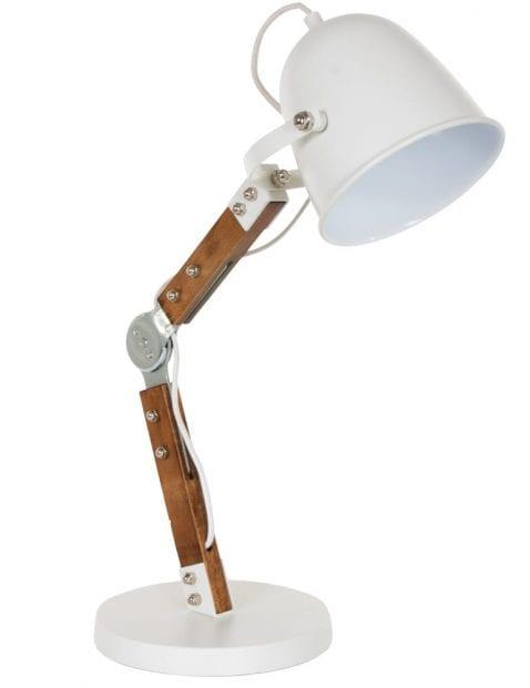 witte tafellamp