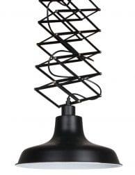 Schaar hanglamp Mexlite Remon zwart