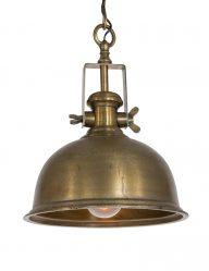 Bronskleurige hanglamp