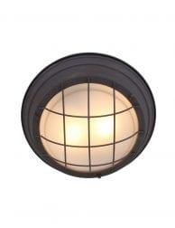Bruine plafondlamp