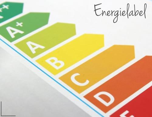 Energielabel lampen