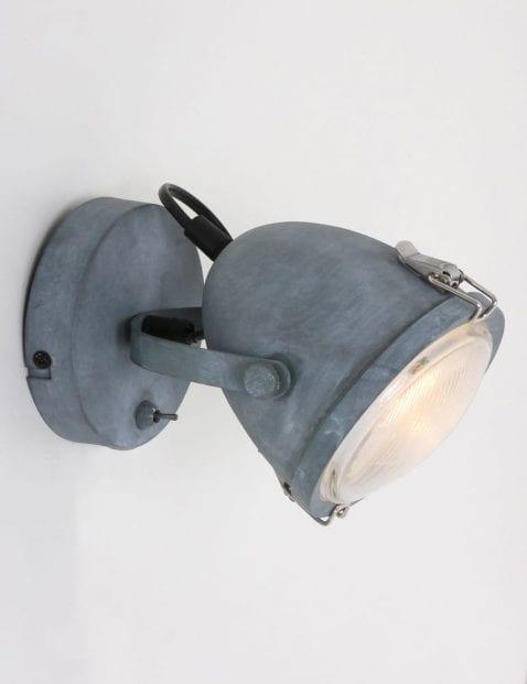 Lumidem-robuuste-wandlamp-grijs