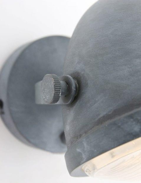 Robuuste-wandlamp-grijs