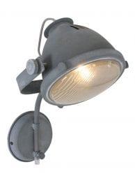 Wandlamp-stoer-grijskleurig