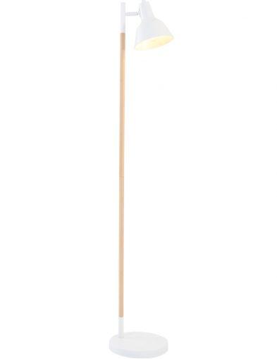 Witte-scandinavische-vloerlamp-met-hout