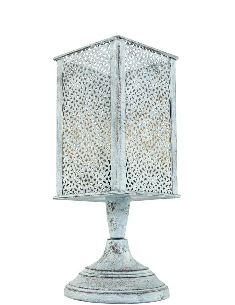 Afbeelding van Arabisch bedlampje Trio Leuchten Jana grijs