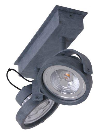 betonlook-plafondspots-tweelichts-verstelbaar-led-energiezuinig