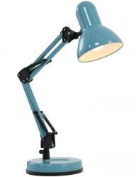 blauwe-industriele-bureaulamp