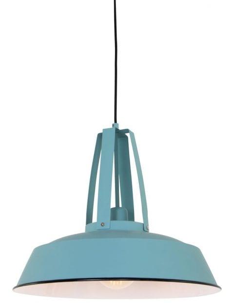 blauwe-industriele-grote-hanglamp