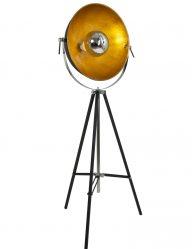 bolvormige-kap-gouden-binnenkant-vloerlamp