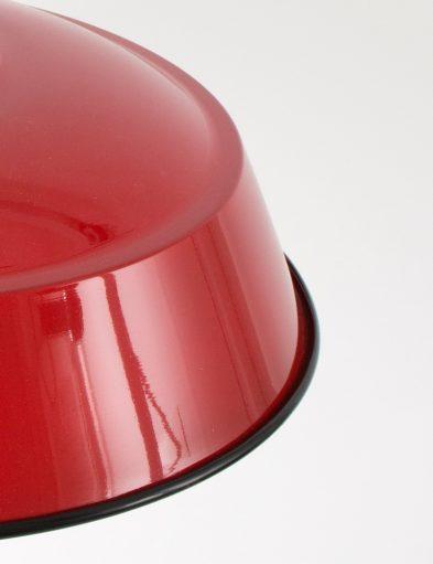 bronq-luna-hanglamp-rood-glans-groot