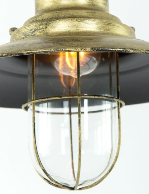 brons-hanglampje