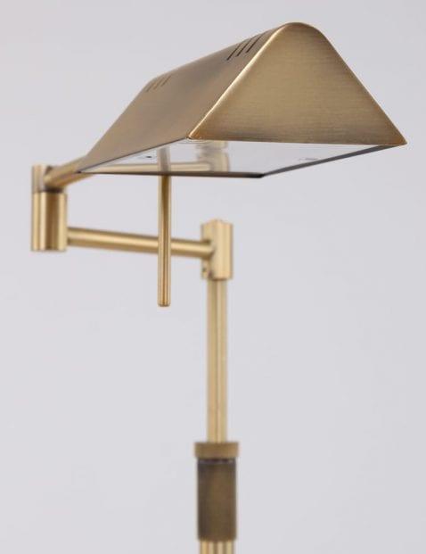 bronze-vloerlamp