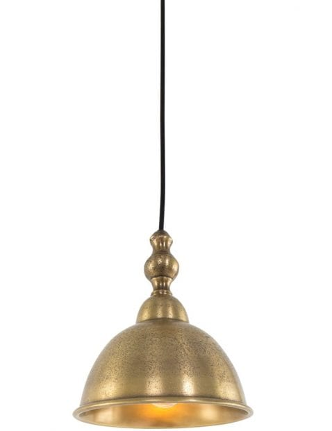 bronzen-hanglampje-slaapkamer
