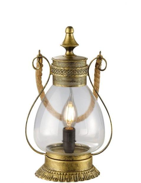bronzen-tafellamp-lantaarn-oosters