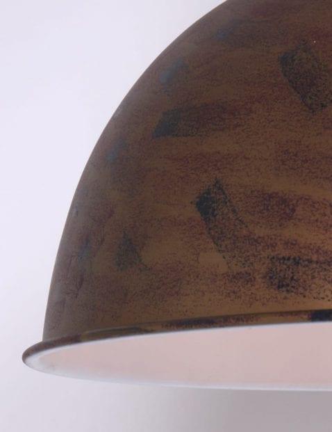 bruin-patroon-hanglamp