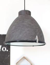 Bruine landelijke hanglamp