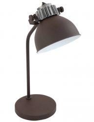 bruine-tafellamp-details