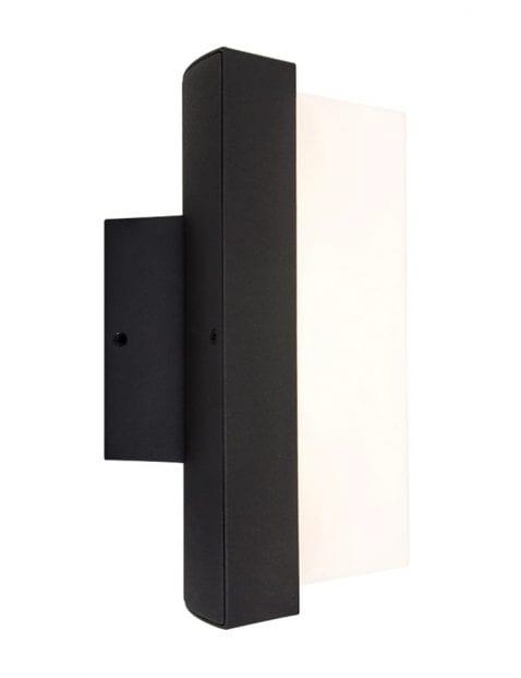 buitenlamp-modern-zwart-led
