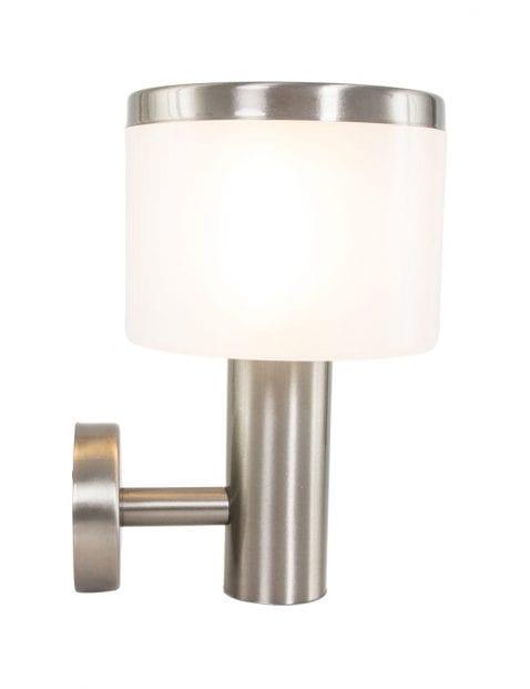 buitenlamp-zilver-rond