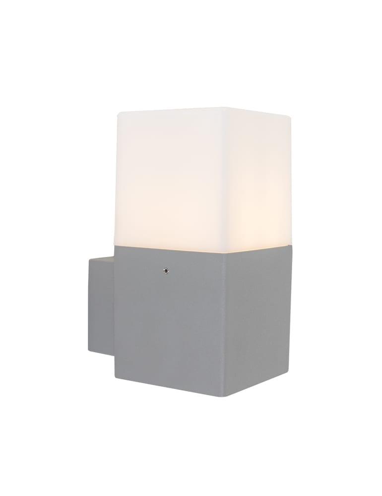 modern wandlampje trio leuchten hudson grijs. Black Bedroom Furniture Sets. Home Design Ideas
