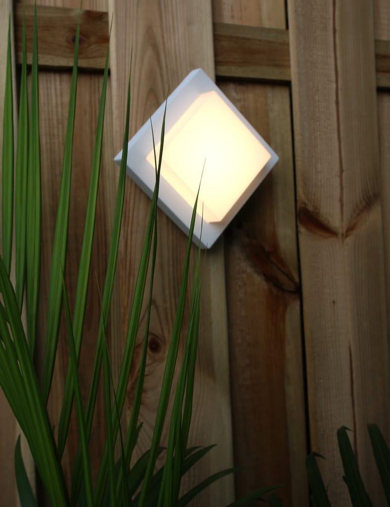 Afbeelding van 3D muurlamp Trio Leuchten Hondo wit