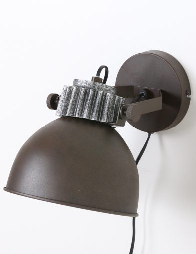 bureaulamp-bruin