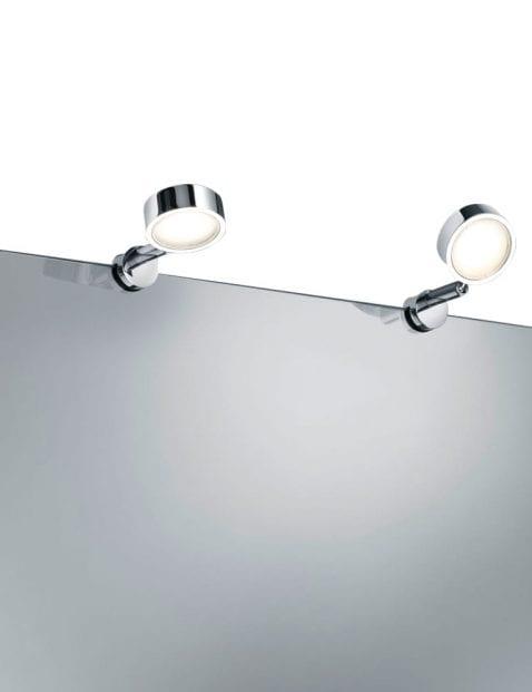 chroom-wandlampjes-spiegel