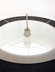 design-hanglamp-eetkamerlamp-stoffen-kap