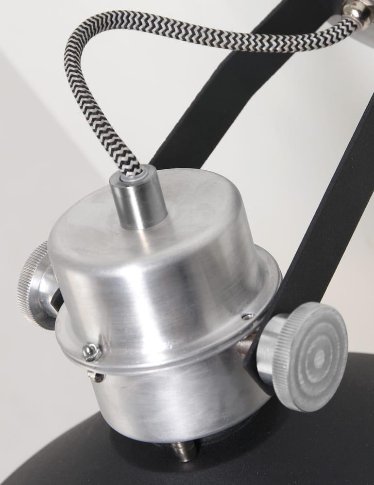 Robuuste zwarte wandlamp stoer for Stoere wandlamp