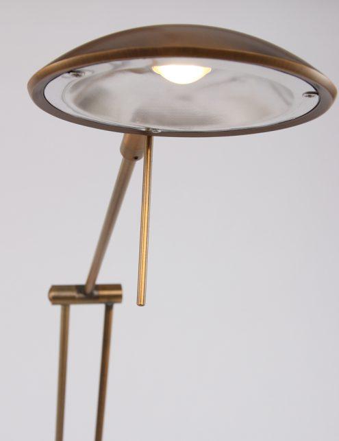 dimbare_vloerlamp_bronskleurig