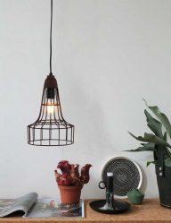 draadlamp bruin