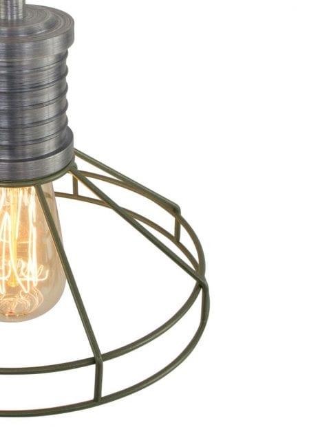 draadlamp-groen-industrieel