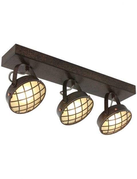 drie-spots-plafondlamp-bruin