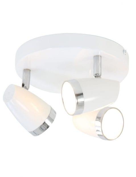 drielichts-ronde-plafondlamp