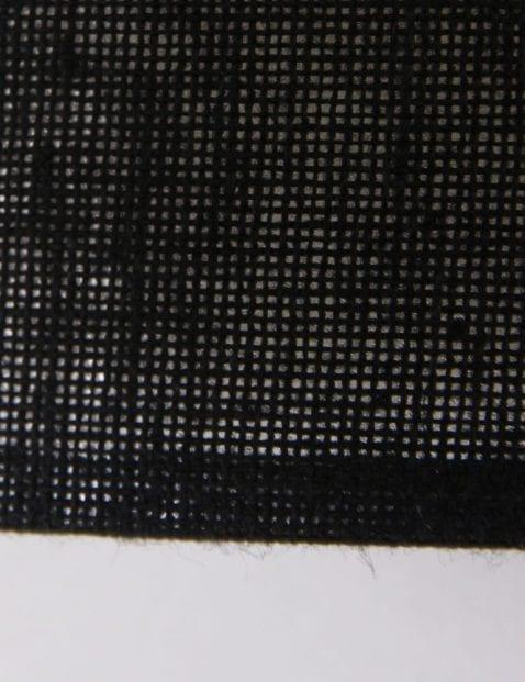 dubbele-stoffen-plafondlamp-zwart-modern