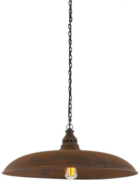 eettafellamp-landelijk-xxl-bruin