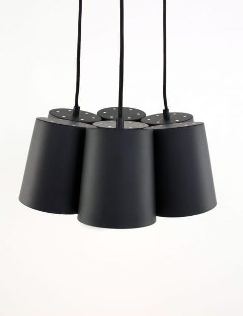 freelight-aster-zwart-met-chromen-details
