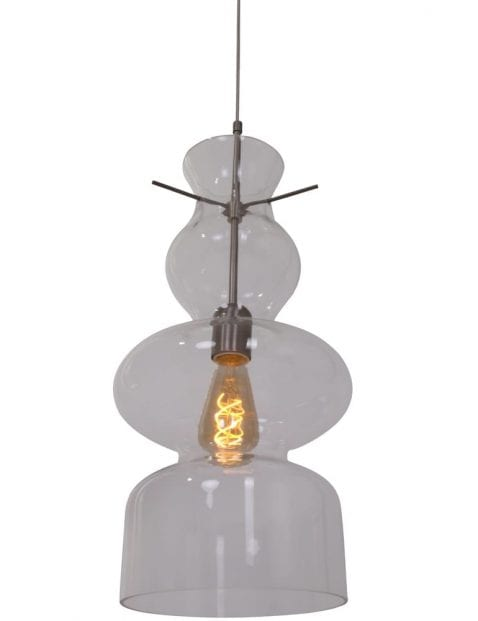 Moderne glaslamp Anne Lighting Chalise Day & Night staal