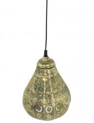 goud-brons-marokkaans-lampje